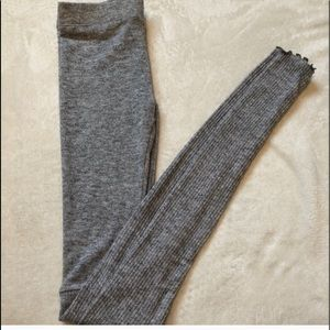 Free people | light grey leggings